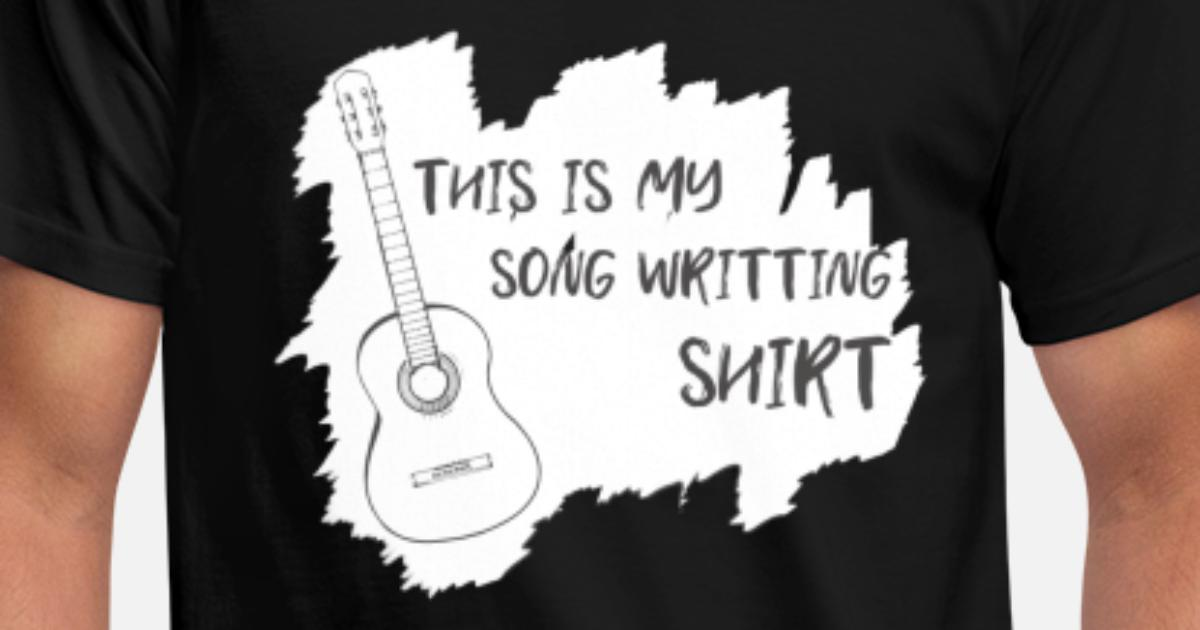 S-5XL Ceci est ma guitare standard Unisexe T-Shirt