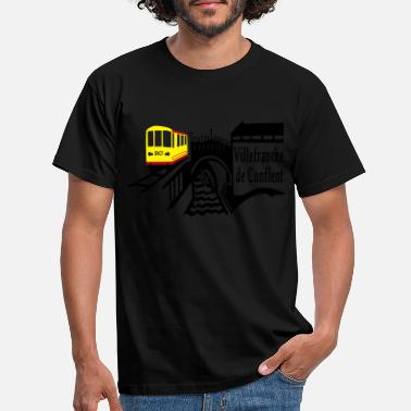 Petit le petit train jaune - T-shirt Homme