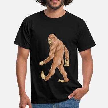 Sasquatch Bigfoot Sasquatch - T-skjorte for menn