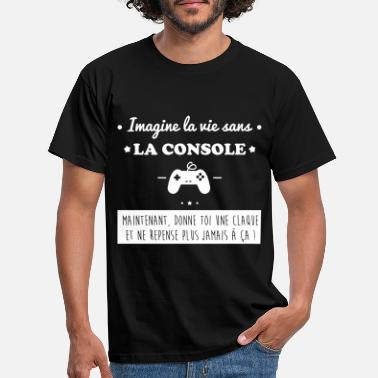 Jeux La console,geek,gamer,gaming - T-shirt Homme