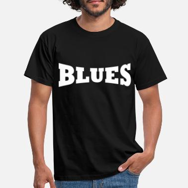 Blues Logo de Blues - Camiseta hombre