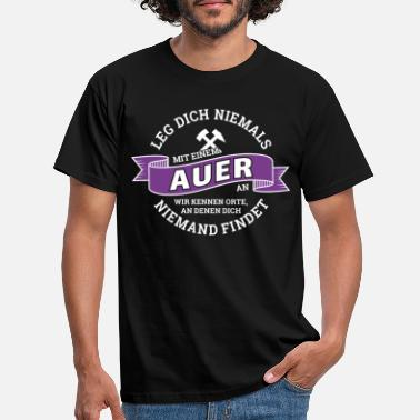 Aue City Aue Erzgebirge football Aue-shirt gift - Men's T-Shirt