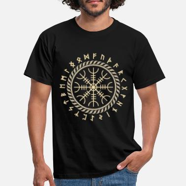 Germania Nordic Rune Vikings Germania Germanic - Mannen T-shirt