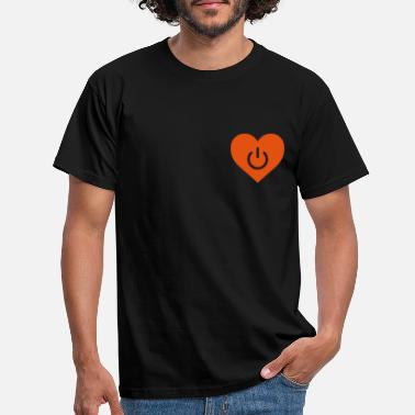 Dato power of love v1 - T-shirt mænd