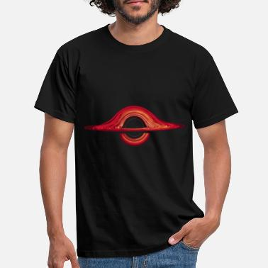 Black Black hole physics - Men's T-Shirt
