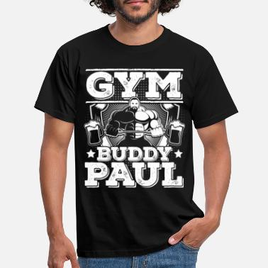 Gym Buddy gym buddy paul - Männer T-Shirt