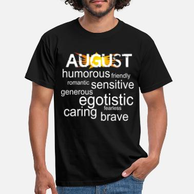 personality who was born in august - Men's T-Shirt
