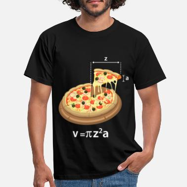 Pizza Pi Day Pizza Meme Math Math Teacher Geek - Koszulka męska