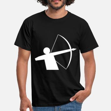 Compound compound bow - Men's T-Shirt
