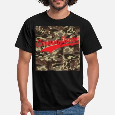 Tema CamouflageSpreadshirt Magliette Con Ordina Online srthQdCxB