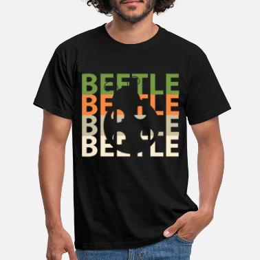 Beetle Meeting Beetle - Men's T-Shirt