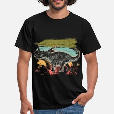 Dinosaurus Diceratops Dinosaur Wilderness Jungle Fossil - Mannen T-shirt