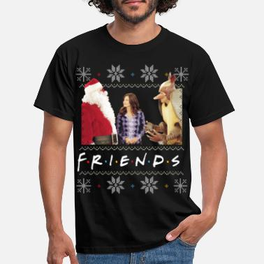Friends X-Mas Santa Monica Holiday Armadillo - T-shirt herr