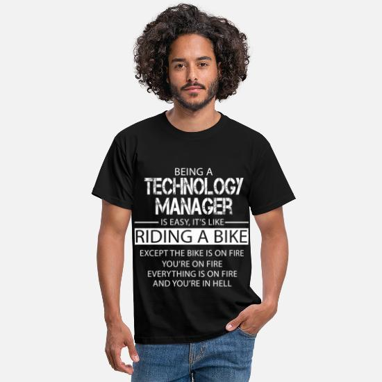 Technology Manager Gifts T-Shirts - Technology Manager - Men's T-Shirt black