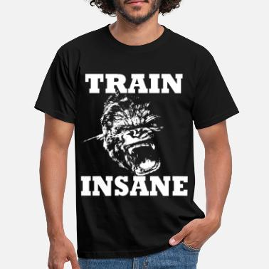 Musculation Train Insane - T-shirt Homme