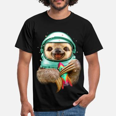 Sloth SPACESLOTH - Men's T-Shirt