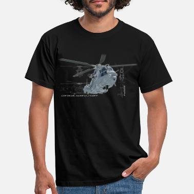 Hélicoptère Caracal helicopter color - T-shirt Homme