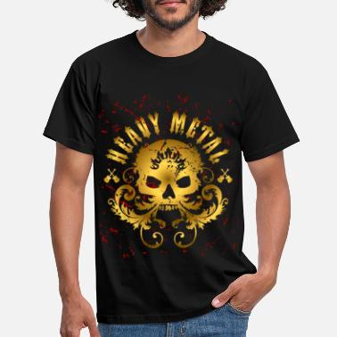 Heavy Metal Heavy Metal Skull - Men's T-Shirt