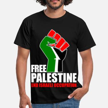 Free Free Palestine end Israeli Occupation - Men's T-Shirt
