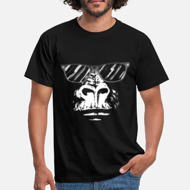 Cool Gorilla nerd - Men's T-Shirt