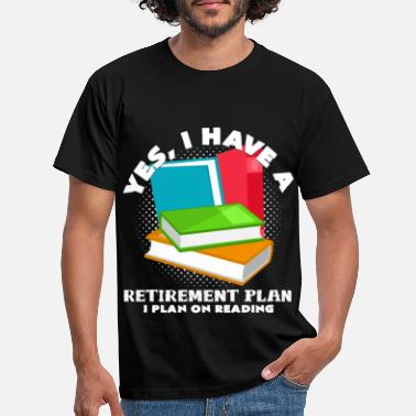 Reading Read books - Men's T-Shirt