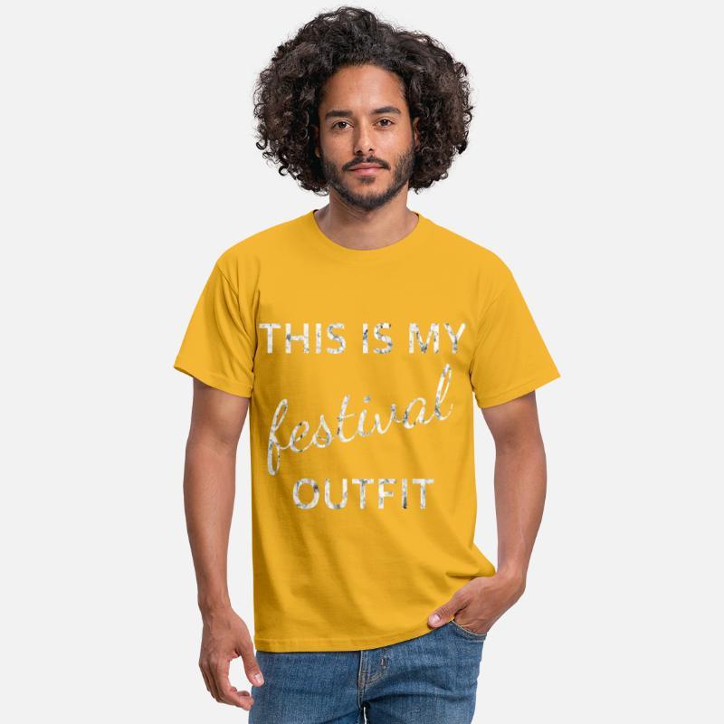 outfit festival T skjorte for menn | Spreadshirt