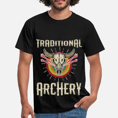 Medieval Cool Traditional Archery Archer Darts Pun gift - Men's T-Shirt