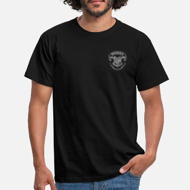 Harry Potter Coat of Arms of Hogwarts small - Mannen T-shirt