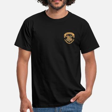 Harry Potter Hogwarts Coat of Arms small - Mannen T-shirt