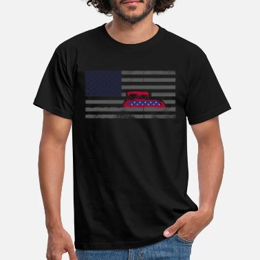 Stars And Stripes 4th of july, 4th of july pontoon captain, captain - Männer T-Shirt