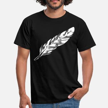 Feathered Animal feather - Men's T-Shirt