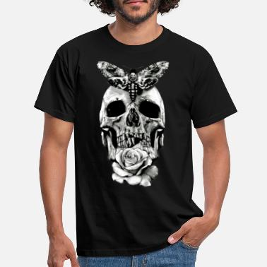 Tattoo Skull Tattoo Design - Men's T-Shirt
