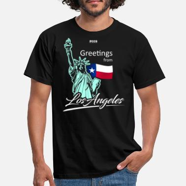 Salutations de Los Angeles - T-shirt Homme