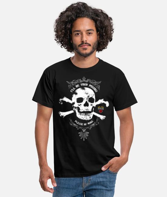 Mort T-shirts - I'll be your poison - T-shirt Homme noir