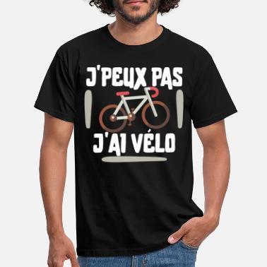 Cyclisme vélo Chaîne bicyclette drôle Top birthdayátee T Shirt T-Shirt