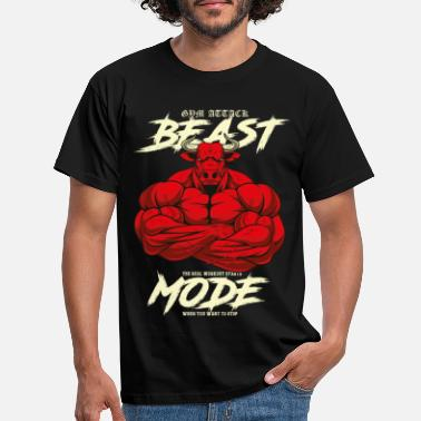 Beast Mode Beast Fashion - Mannen T-shirt