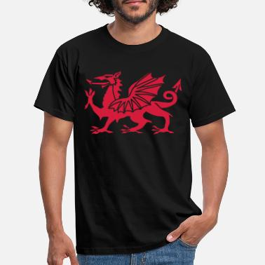 Welsh Welsh Dragon - Men's T-Shirt