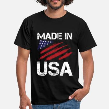 Made In Usa Made in USA - Männer T-Shirt