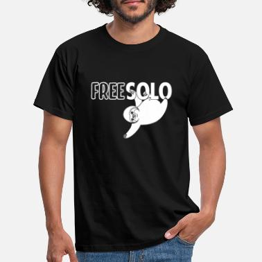 Solo Free Solo Faultier Sloth - Männer T-Shirt