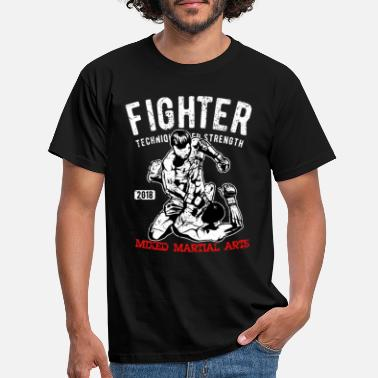 Fans Fighter - MMA Fighter - Kampsport - T-skjorte for menn