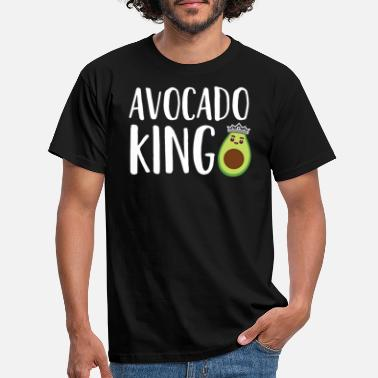 Mexican Art avocado king ready - Men's T-Shirt