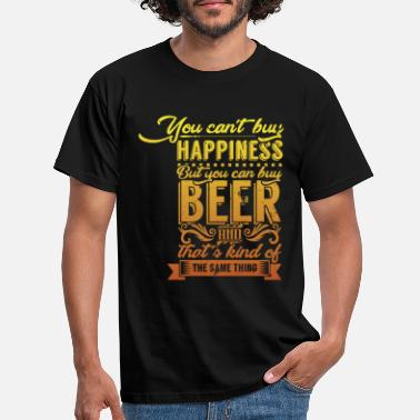 Oktoberfest You Can not Buy Happiness But Craft Beer - Men's T-Shirt