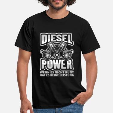 Diesel DIESEL POWER - T-skjorte for menn