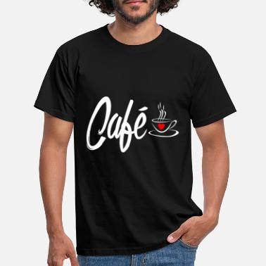 Presents Coffee cafe - Men's T-Shirt