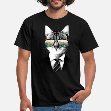 Chat NYC Cat - T-shirt Homme