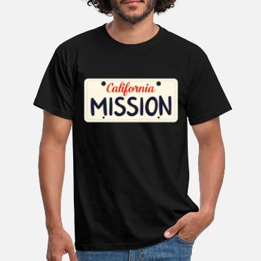 San California Mission USA Missionary Love Jesus - Men's T-Shirt