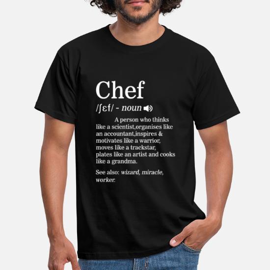 Chef définition T-Shirt