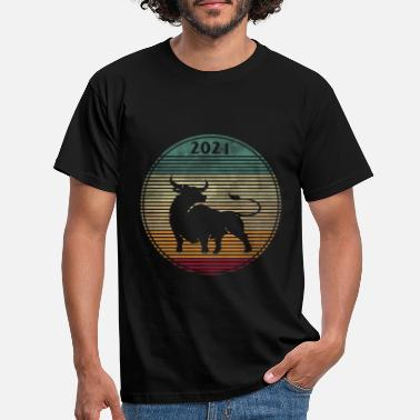 China Year Of The Ox 2021 Happy Chinese New Year Shirt - Men's T-Shirt