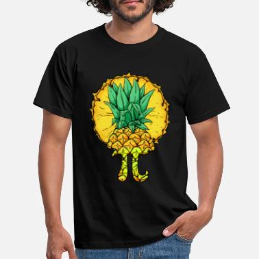 Mathematics Cute Pi Day Shirt Pineapple Fruit Lover Math - Men's T-Shirt
