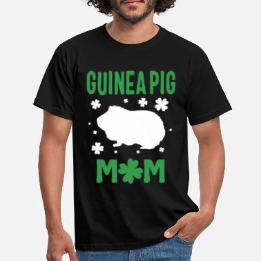 Day Guinea Pig Mom Shirt St Patricks Day Cute Furry - T-shirt herr